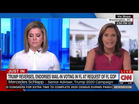 MELTDOWN: Crazed CNN Host Throws Fits After Mercedes Schlapp Drops Truth Bombs on Mail-In Voting