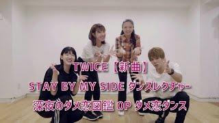 mqdefault - TWICE  STAY BY MY SIDE ダンスレクチャー 深夜のダメ恋図鑑  OP ダメ恋ダンス