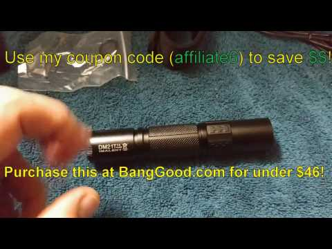 Imalent DM21T flashlight review!