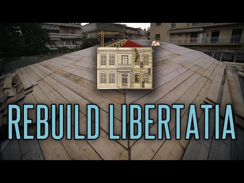 Rebuilding Libertatia: The story of a squat, burnt by fascists, rising from the ashes