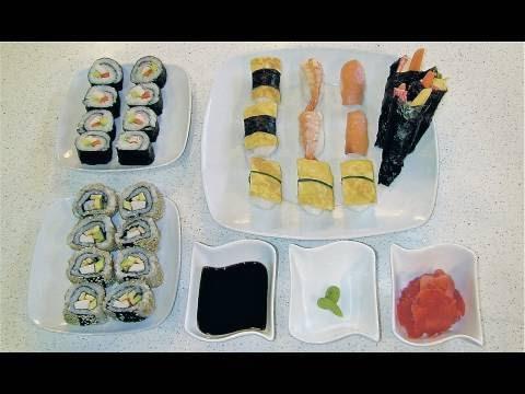 Sushi de andar por casa