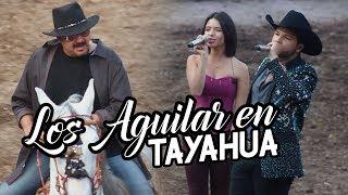 Pepe, Ángela y Leonardo Aguilar en Tayahua Zacatecas