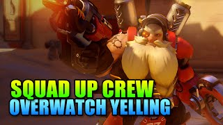Overwatch Belligerent Yelling - Squad Up