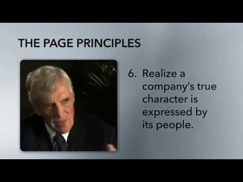 The Page Principles