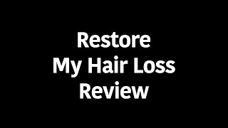 restore my lost hair discount | restore my lost hair coupon | restore my lost hair scam