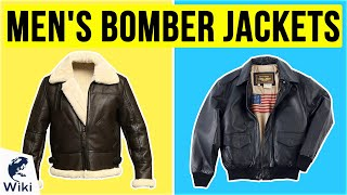 10 Best Mens Bomber Jackets 2020