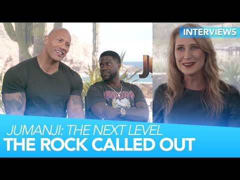 The Rock Gets CALLED OUT On His Nerd Cred | Jumanji: The Next Level