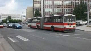 preview picture of video 'Der O-Bus in Banská Bystrica / Trolejbus v Banskej Bystrici (02.+03.06.2011)'