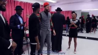 Jidenna - Knickers |  BTS | Alonzo Williams Choreography