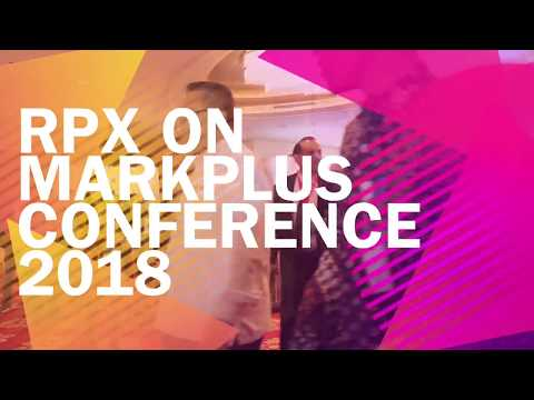 RPX on Markplus Conference 2018