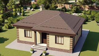 Проект дома 092-А, Площадь дома: 92 м2, Размер дома:  12,4x10 м