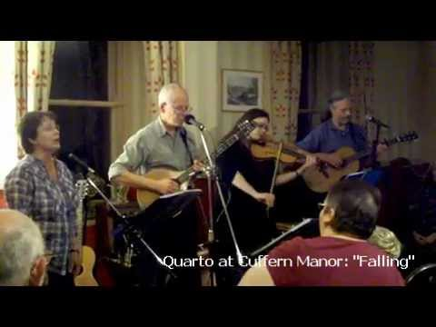 "Pembrokeshire folk band Quarto playing ""Falling"" by Kate Rusby"
