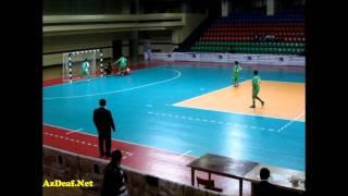 Глухие футболисты в Баку
