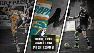 Florida Tropics vs Milwaukee Wave