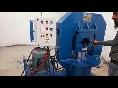 Wire Rope Sling Press Machine