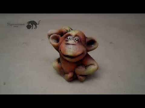 Керамическая обезьяна — купить подарок на Новый 2016 год