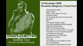 MORRISSEY - November 14, 2009 - Brussels, Belgium (Full Concert) LIVE