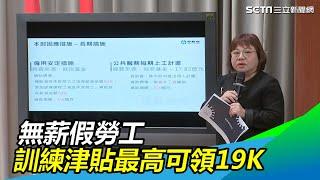 武漢肺炎/行政院拍板 無薪假勞工訓練津貼最高可領19K|三立新聞網SETN.com