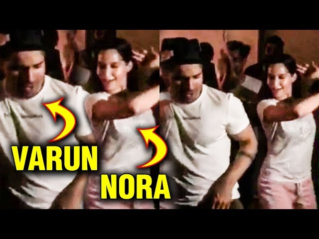 Varun Dhawan Nora Fatehi H0T Chemistry On Street Dancer 3D SETS