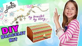EASY DIY Charm Bracelet Making Kit By JustBe - Perfect Crafty Gift!