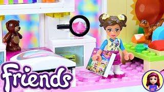Lego Friends Little Olivias Toddler Bedroom - Custom Girls Room Renovation DIY Craft