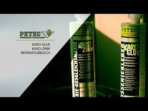 PETEC Anwendungsvideo Karo Zinn & Karo Glue