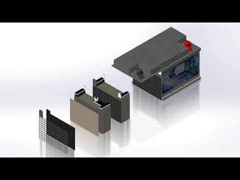 GELanimation RPower Batterie Aufbau