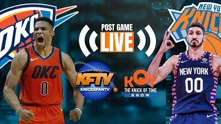 Knicks No Match For OKC On MLK Day| LIVE Post Game Fan Reaction & Phone In| Knicks Trade Talk 🏀