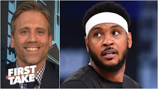 Max admits he was wrong for calling Carmelo 'washed' | First Take