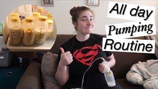 My pumping schedule! | Building a milk stash | Young mom of 2 | Jessica Lauren
