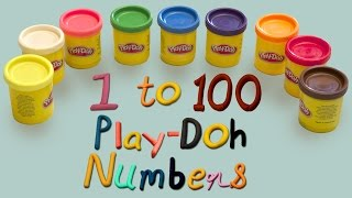 Numbers Song | Learn Numbers 1 to 100 | Play Doh Numbers