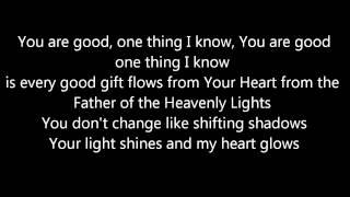 Every Good Gift (with lyrics)