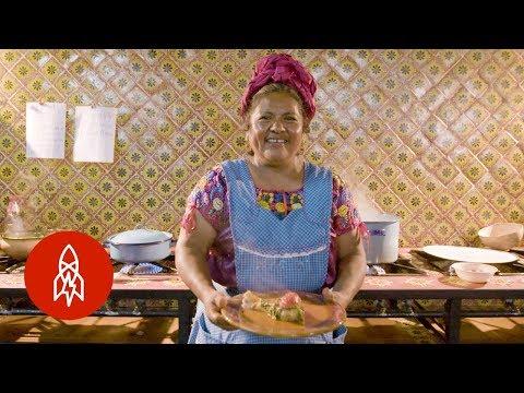 Siguiendo La Tradición: Comida Prehispánica Zapoteca