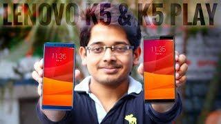 LENOVO K5 & LENOVO K5 PLAY The Redmi Note 5 Killer ?