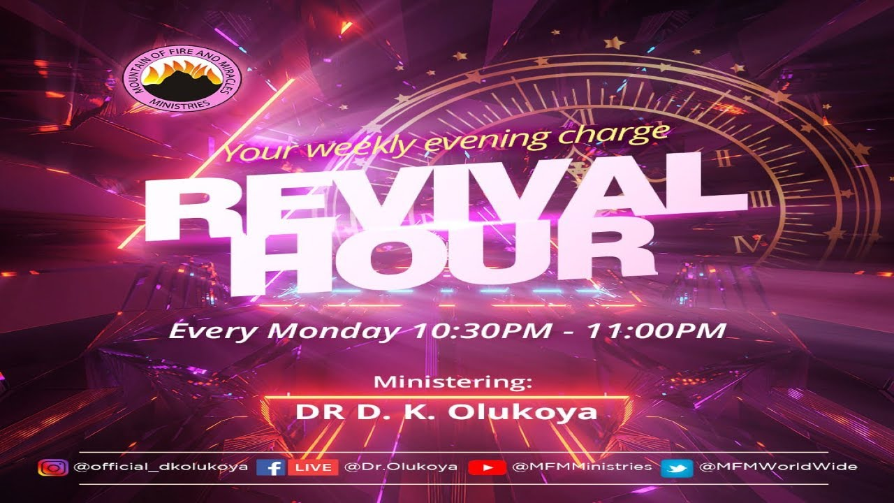 MFM Revival Hour 10th May 2021 Live with Pastor D. K. Olukoya