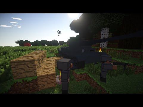 Minecraft Airborne Troop Deployment [Custom NPCs mod+ McHeli