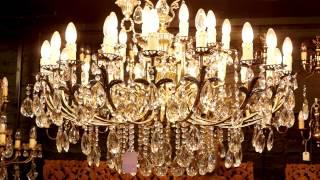 Antique Crystal Chandeliers - Cheltenham