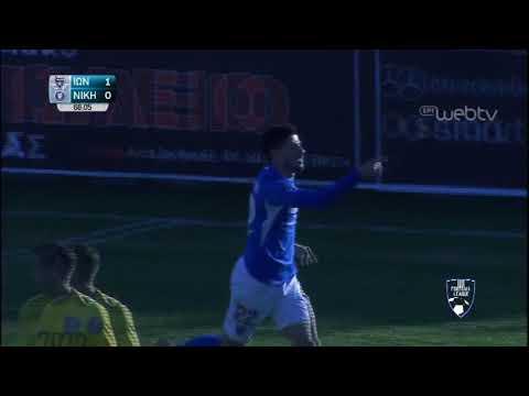 Football League:  ΙΩΝΙΚΟΣ – ΝΙΚΗ ΒΟΛΟΥ    | ΓΚΟΛ 1-0 | 08/02/2020 | ΕΡΤ