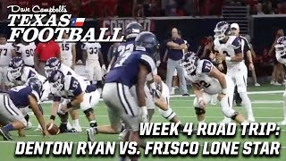 Week 4 DCTF Road Trip: Denton Ryan vs. Frisco Lone Star