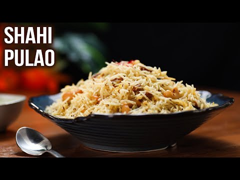 Shahi Pulao Recipe   How To Make Shahi Veg Pulao   MOTHER'S RECIPE   Meal Ideas   Indian Rice Recipe