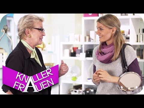 Neue Gesichtscreme - Knallerfrauen mit Martina Hill   Die 3. Staffel in SAT.1