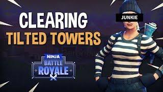 Ninja - Highlight Junkie [Clearing Tilted Towers]