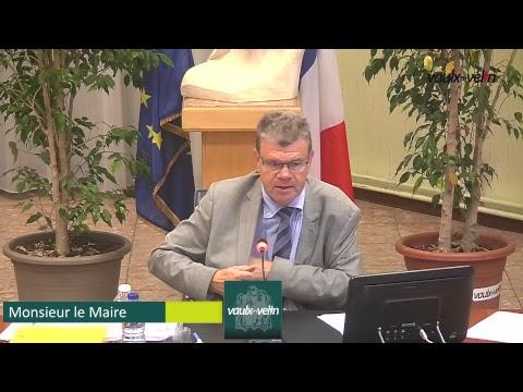 Conseil Municipal de Vaulx-en-Velin du jeudi 22 juin 2017