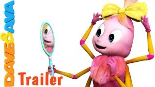 🐾 Incy Wincy Spider  – Trailer | New Nursery Rhymes and Kids Songs from Dave and Ava 🐾