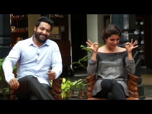NTR And Samantha Super Funny Conversation