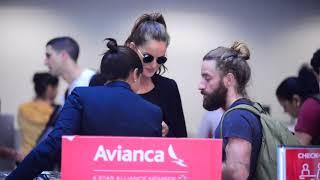 Izabel Goulart No Aeroporto Santos Dumont RJ  2