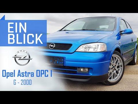 Opel Astra G OPC I 2000 - Welche Besonderheiten stecken im ersten OPC-Modell?