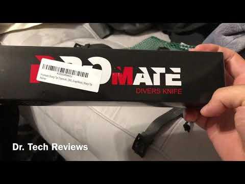Promate Titanium Dive Knife Review
