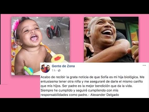 ¡POSITIVO! Las pruebas de ADN confirman que Sofía es hija de Alexander Delgado