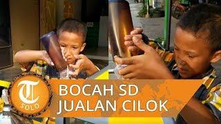 Viral Video Penjual Cilok Murid kelas 6 SD Cemani Solo, Demi Bantu Keuangan Orangtua